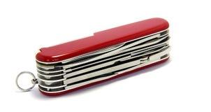 Juego de herramientas suizo Foto de archivo libre de regalías