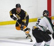 Juego de hockey de los alumnos de los Boston Bruins Ken Linseman Foto de archivo libre de regalías