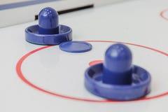 juego de hockey de la tabla del juguete foto de archivo libre de regalías