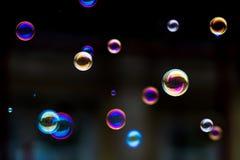 Juego de la burbuja: Átomos de la primavera Imagenes de archivo