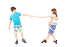 Juego de la cuerda Imagen de archivo libre de regalías