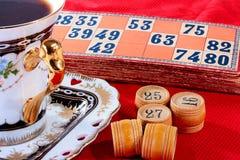 Juego de la loteria Foto de archivo