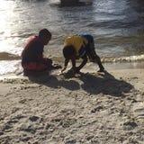 Juego de la playa Imagenes de archivo