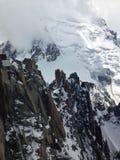 Juego de la roca y de la nieve Imagen de archivo