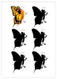 Juego de la 'sombra 2 ilustración del vector