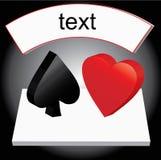 juego de la tarjeta 3d Imagenes de archivo