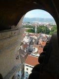 Juego de la vieja escena de la ciudad del trono en la fractura Croacia Fotos de archivo