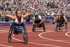 Juego 2012 de Londres Paralympic Fotografía de archivo libre de regalías
