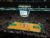 Juego de los Celtics de Boston Imagenes de archivo