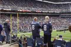Juego de los Seattle Seahawks Foto de archivo