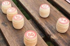 Juego de Loto (bingo) Imagen de archivo libre de regalías