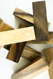 Juego de madera de la torre Imagen de archivo