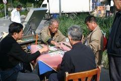 Juego de Mahjong Imagen de archivo