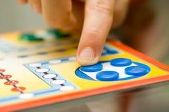 Juego de mesa Imagen de archivo libre de regalías