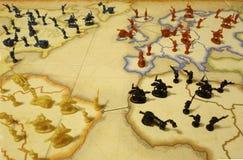 Juego de mesa de la dominación del mundo Imagen de archivo libre de regalías