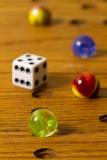 Juego de mesa de los mármoles Foto de archivo
