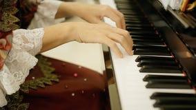 Juego de Mozart de la corte del pianista metrajes