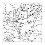 Juego de números (koala) ilustración del vector