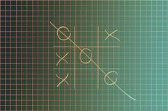 Juego de X-O Foto de archivo libre de regalías