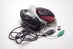 juego de ordenador del ratón Foto de archivo