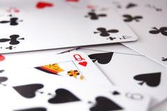 Juego de póker Imagenes de archivo