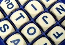 Juego de palabra Imagen de archivo libre de regalías