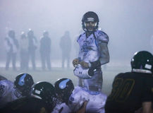 Juego de pelota en la niebla Imagen de archivo libre de regalías
