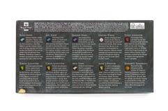 Juego de Royal Mail de los caracteres del paquete de la presentación de los tronos Foto de archivo libre de regalías