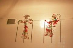 Juego de sombra chino Fotos de archivo libres de regalías