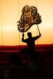 Juego de sombra magnífico Imagen de archivo libre de regalías