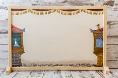 Juego de sombra turco tradicional Fotografía de archivo
