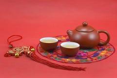 Juego de té chino Fotografía de archivo libre de regalías