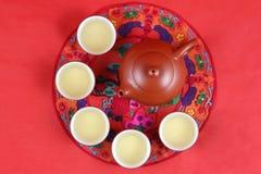 Juego de té chino Foto de archivo libre de regalías