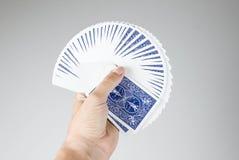 Juego de tarjeta Imagenes de archivo
