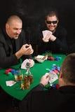 Juego de tarjeta de la diversión Imágenes de archivo libres de regalías
