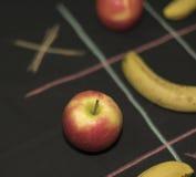 Juego de Tris con la fruta Fotos de archivo
