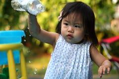 Juego del agua del verano Foto de archivo libre de regalías