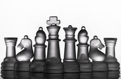 Juego del ajedrez fotos de archivo