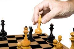 Juego del ajedrez Fotografía de archivo