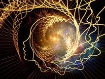 Juego del alma y de la mente Imagen de archivo libre de regalías