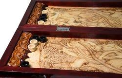 Juego del backgammon Imagen de archivo