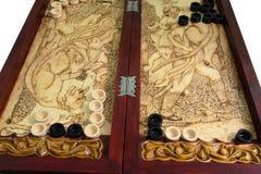 Juego del backgammon Fotos de archivo