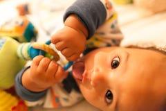 Juego del bebé Imagenes de archivo