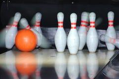 Juego del bowling Fotos de archivo libres de regalías