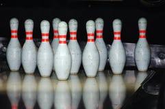 Juego del bowling Fotografía de archivo libre de regalías