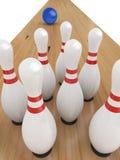Juego del bowling ilustración del vector