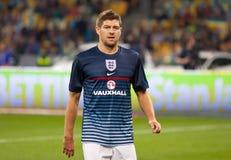 Juego 2014 del calificador del mundial de la FIFA Ucrania v Inglaterra Imagenes de archivo