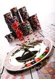 Juego del casino Fotografía de archivo libre de regalías