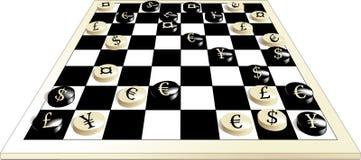 Juego del dinero en circulación ilustración del vector