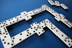 Juego del dominó Fotografía de archivo